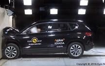 Ateca, Giulia e Tiguan têm cinco estrelas NCAP