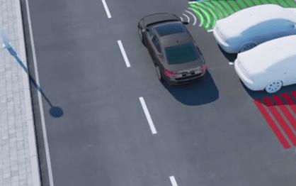 Park Assist é uma forma de condução autónoma