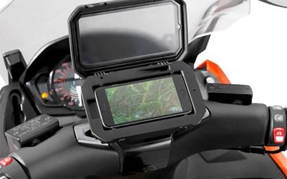 Smartphones chegam às motos