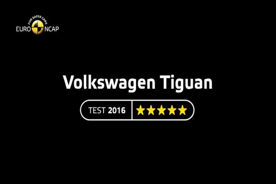 VW Tiguan têm cinco estrelas NCAP