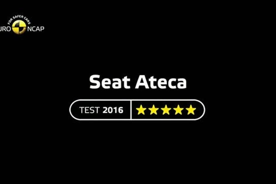 SEAT Ateca têm cinco estrelas NCAP