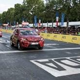 "Skoda Kodiaq exibiu-se a liderar o ""Tour de France"""