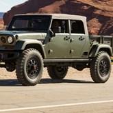 Novo Jeep Wrangler terá uma pick up