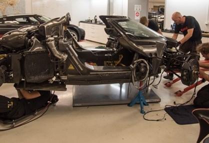 Acidente do Koenigsegg causado por falha no ABS