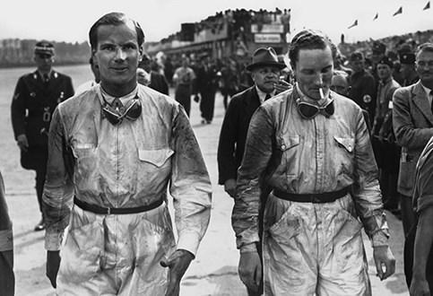 HOJE HÁ 78 ANOS: GP da Alemanha - Inglês aplaudido pelos nazis