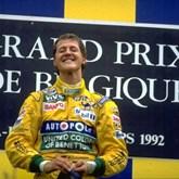 HOJE HÁ 24 ANOS: A 1ª vitória de Schumacher na F1
