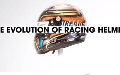 100 anos de evolução do capacete de competição