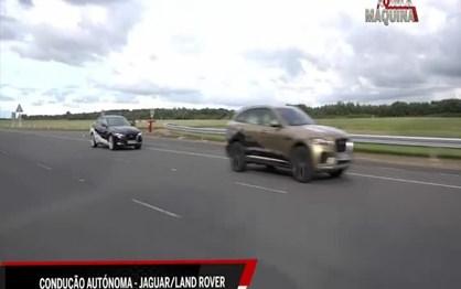 Jaguar-Land Rover desenvolve condução autónoma