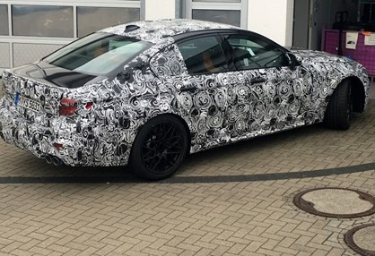 """Novo BMW M5 """"apanhado"""" depois de testes"""
