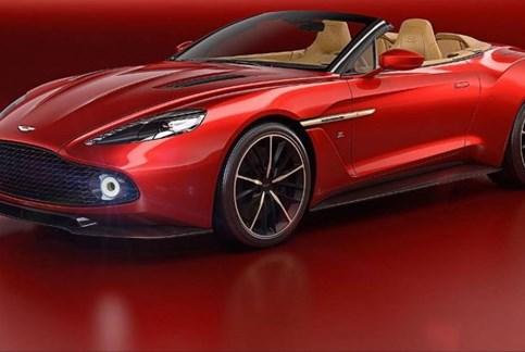 Só haverá 99 Aston Martin Vanquish Volante Zagato…