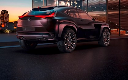 Concept Lexus UX fará estreia mundial em Paris