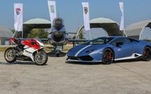 Lamborghini juntou-se à Ducati e à Força Aérea italiana