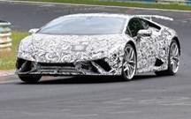 "Lamborghini Huracán Superleggera ""apanhado"" em testes"