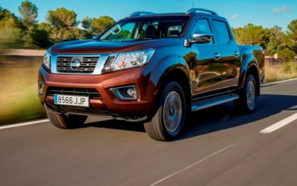 Nissan Navara e os clones Renault e Mercedes