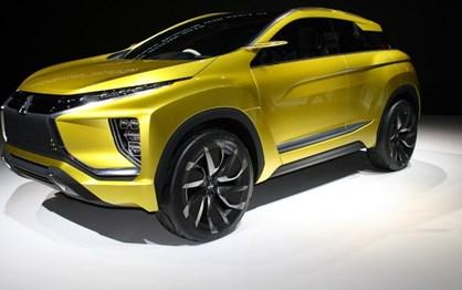 Mitsubishi eX Concept vai estar no salão de Los Angeles