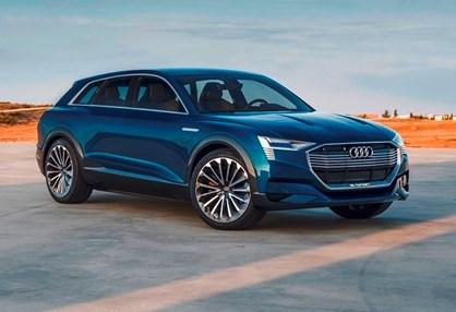 Audi e-tron é aposta