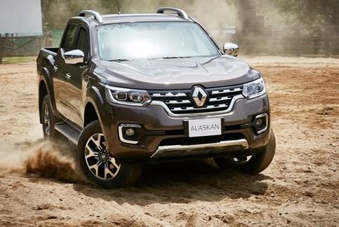 Alaskan é a pick-up da Renault
