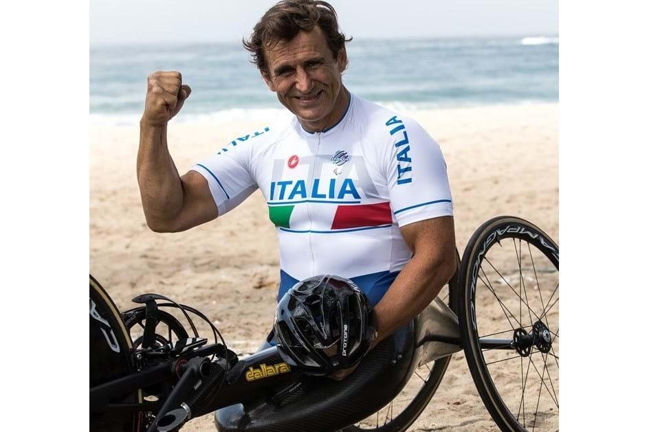 Zanardi nos Jogos Paralímpicos do Rio de Janeiro 2016