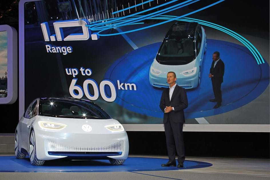 VW concept I.D. apresentado em Paris