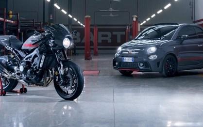 Abarth Tributo XSR inspira-se numa… Yamaha!