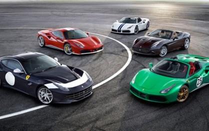 70 pinturas para celebrar os 70 anos da Ferrari