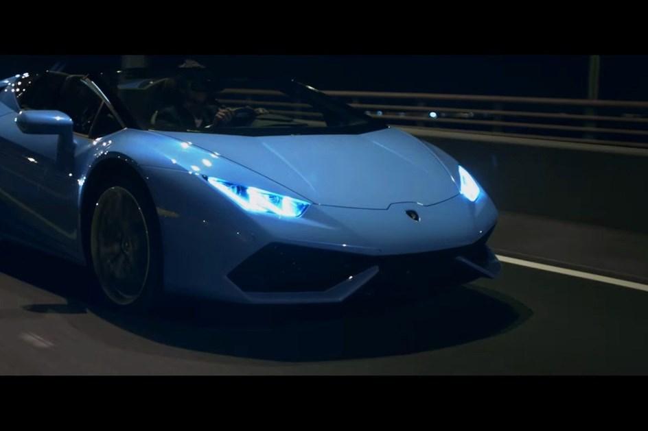 Família do Lamborghini Huracán junta em vídeo que passou por Portugal