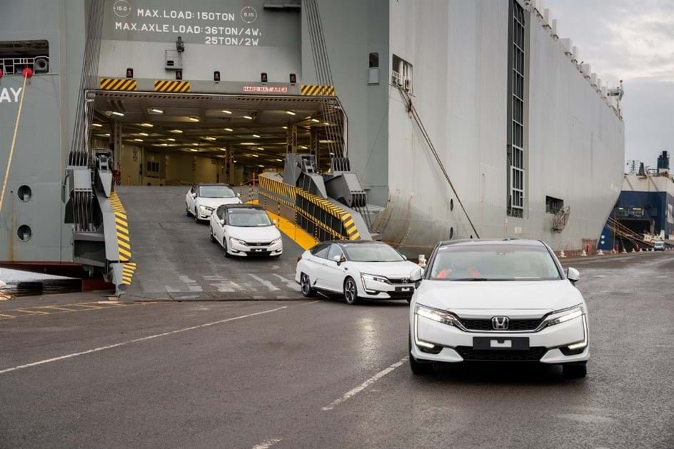 Honda Clarity Fuel Cell já chegou à Europa