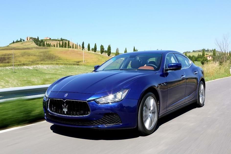 Modelos do catálogo actual da Maserati