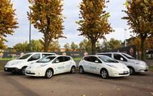 AS Roma e Nissan juntas para promover os eléctricos!