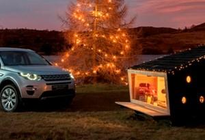 Land Rover criou uma cabana para o Pai Natal