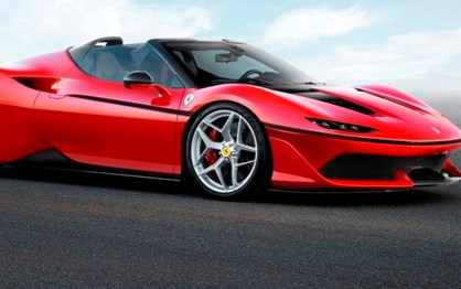 Novo Ferrari J50 é uma série limitada a 10 unidades