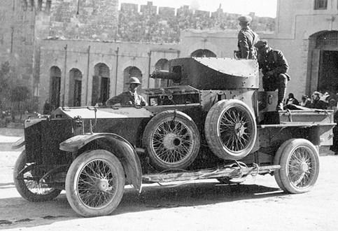 HOJE HÁ 102 ANOS: Rolls Royce foi para a tropa