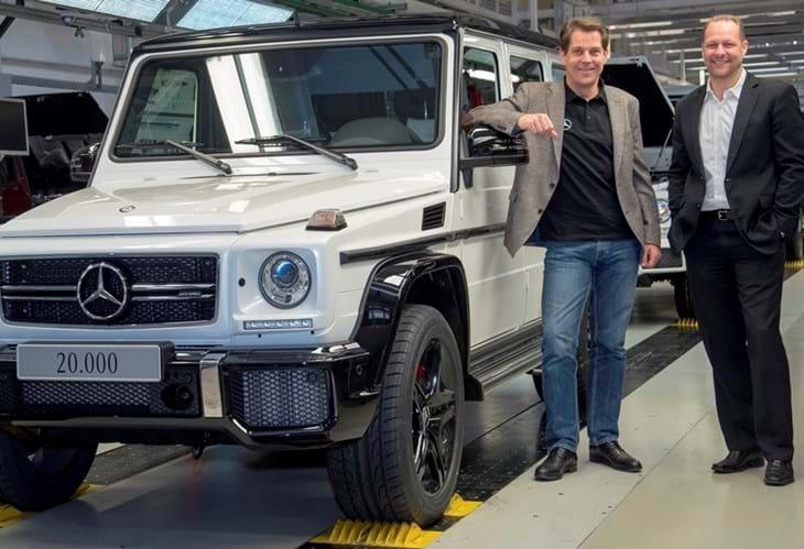 Mercedes Classe G está vivo e de boa saúde!