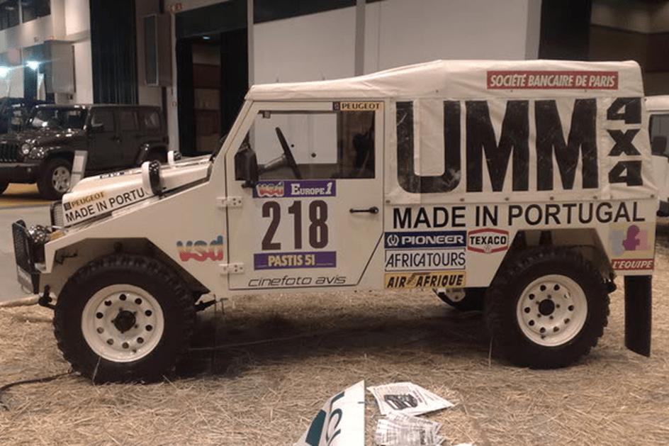 HOJE HÁ 35 ANOS: UMM à partida do Dakar