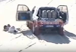 HOJE HÁ 17 ANOS: o acidente de Carlos Sousa/Nuno Luz no Dakar de 2000