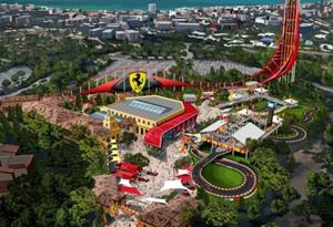Ferrari Land abre portas em Abril