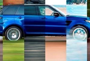 Veja o Range Rover Sport SVR a acelerar em todos os terrenos como um supercarro!