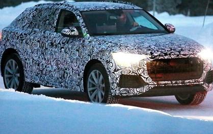 """Audi Q8 já anda em testes antes do… """"concept"""" brilhar em Detroit"""