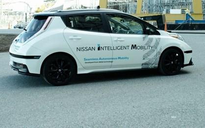 """Próximo Nissan Leaf será """"semiautónomo"""""""