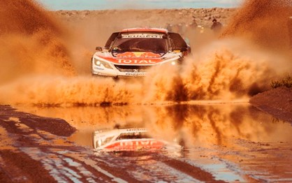 Catástrofe natural volta a travar o Dakar!
