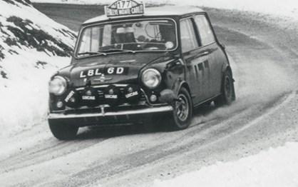 HOJE HÁ 50 ANOS: Mini venceu Rali de Monte Carlo