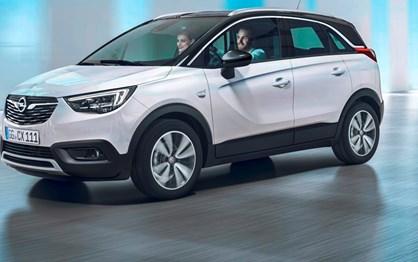 Crossland X abre ano em cheio para a Opel!
