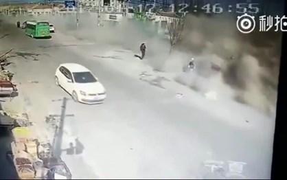 Camião descontrolado mata cinco pessoas na China