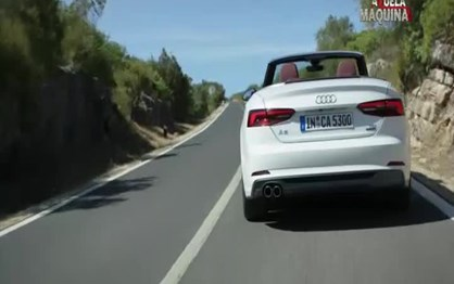 Audi A5 Cabrio: conduzir a céu aberto