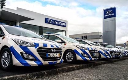 Hyundai fornece frota à PSP nos Açores