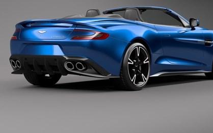 Aston Martin Vanquish S perdeu a cabeça
