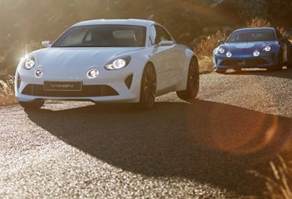 O novo Alpine chama-se A110 ou AS110?...