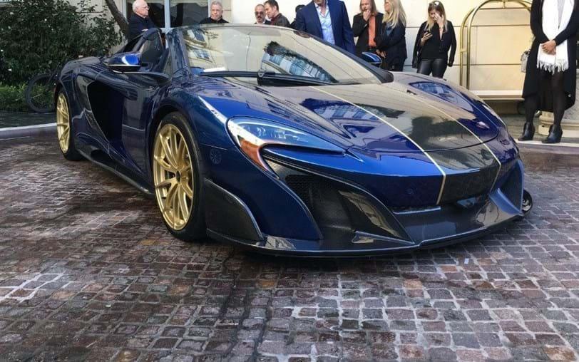 Dono extravagante compra McLaren com ouro nas jantes