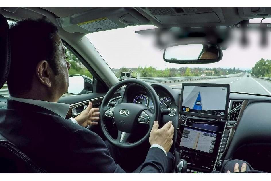 Carlos Ghosn testou o protótipo autónomo do Infiniti Q50