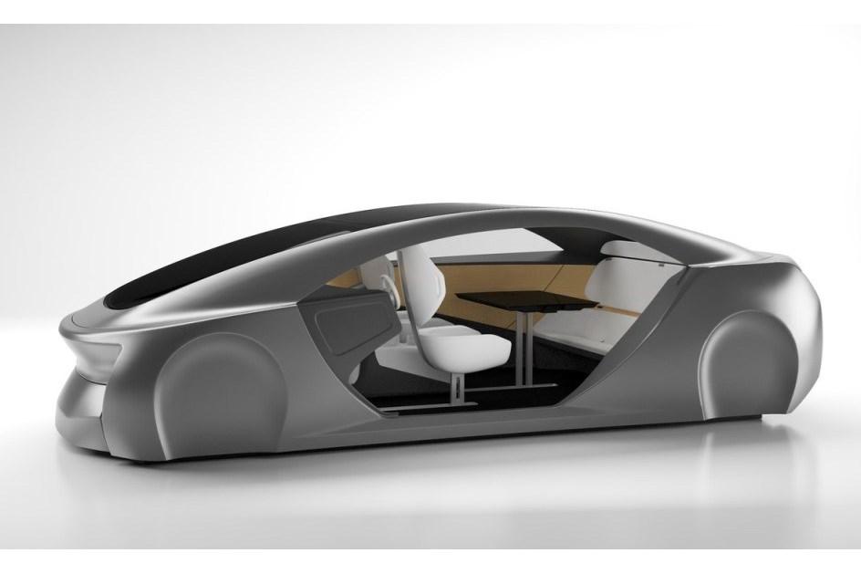 O habitáculo do futuro da Panasonic terá uma mesa interactiva